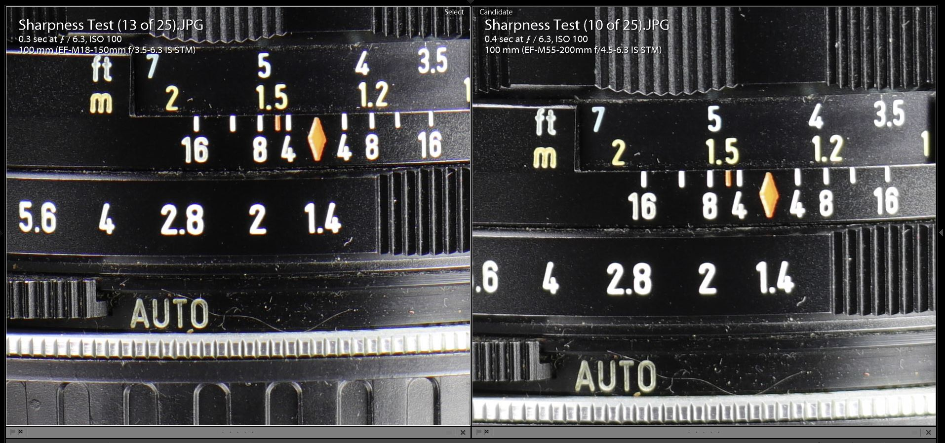 Canon Ef M 18 150mm F 35 63 Is Stm Review Eos M3 Kit Ii M18 55 Ampamp M55 200 At The Various Focal Lengths That I Compared 150 Gave Better Edge Performance While Always Nearly Matching Center
