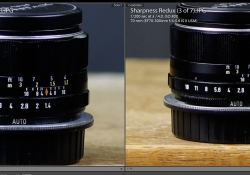 70mm Center Comparison