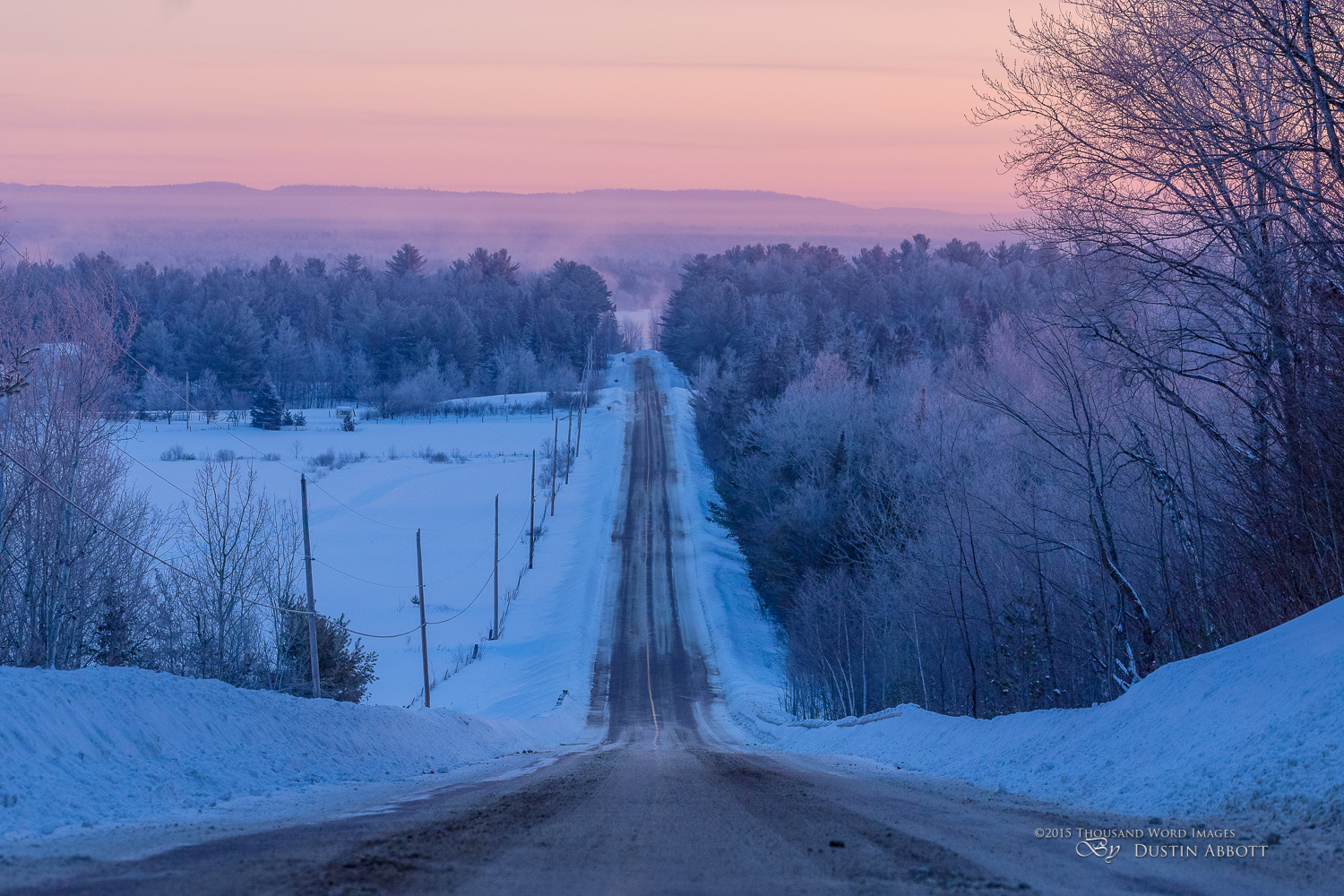 Winter's Splendor #1 - The Road