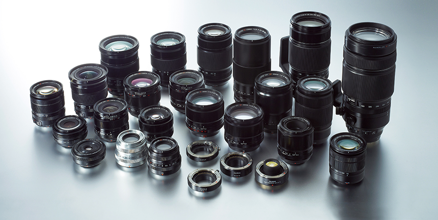 02 X Mount lenses