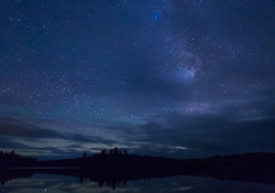 Starry Night over Algoniquin
