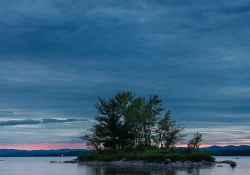 Ottawa River in Blue