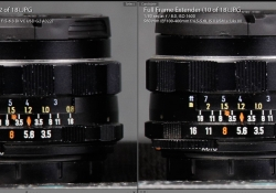 Tamron vs Canon 560mm left