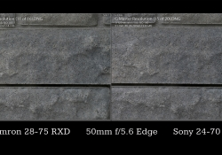 50mm Stopped Down Comparison