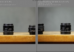 Focus Breathing vs Canon 100-400L II