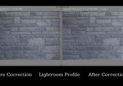 70mm Profile Correction