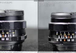 Vs Canon f28 Left