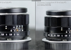 Vs Canon f28 M Center