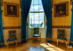 A Room with a View (Blue Room, White House)