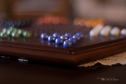 Chinese Checkers Bokeh